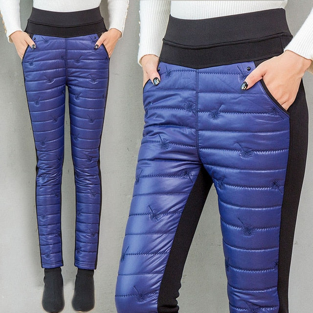 Snow wear Thick straight pants