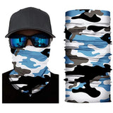 Military Camouflage Airflow Face Mask