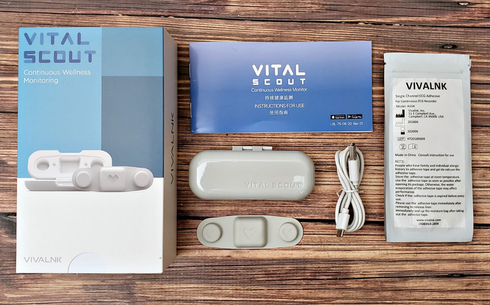 Track wellness at home with the Vital Scout monitor