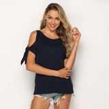 Women's Casual Sleeveless Off-Shoulder Top