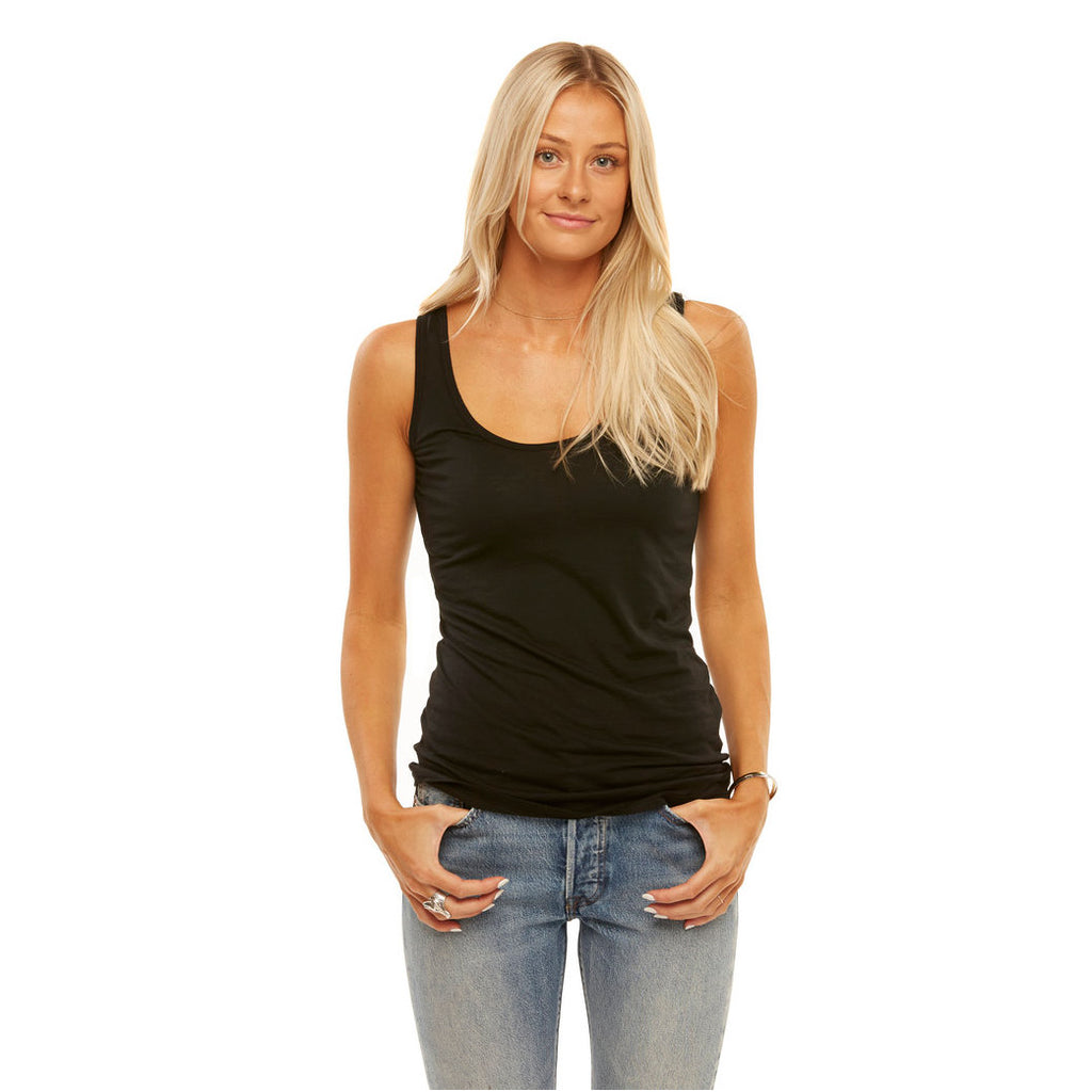 Tuesday Layering Tank Top Black