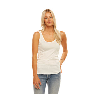 Tuesday Layering Tank Top White