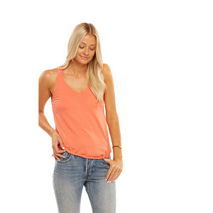 Friday Racer Back Tank in Dubarry