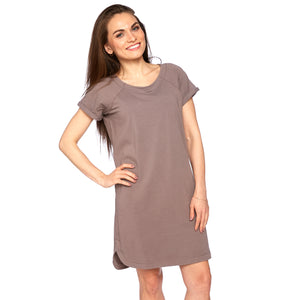 Kismet Dress in Twilight Mauve