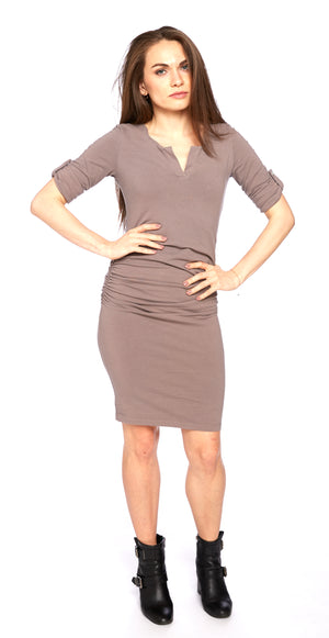 Tamarind Dress in Twilight Mauve