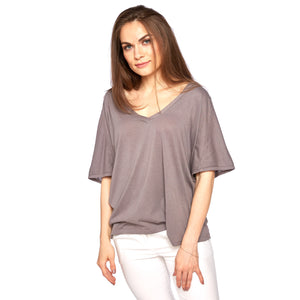 Viva Tee in Twilight Mauve