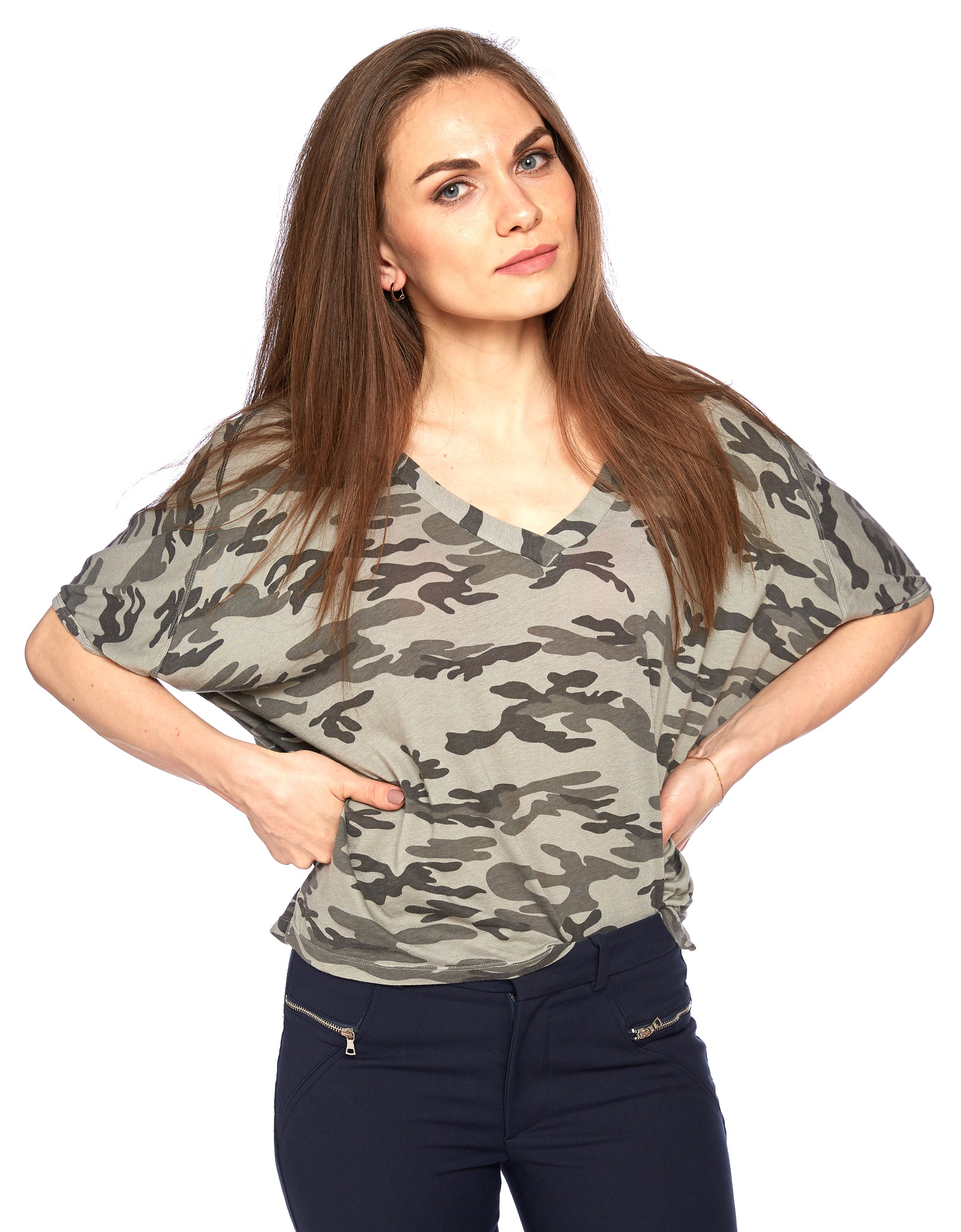 Viva Tee in Laurel Oak Camo