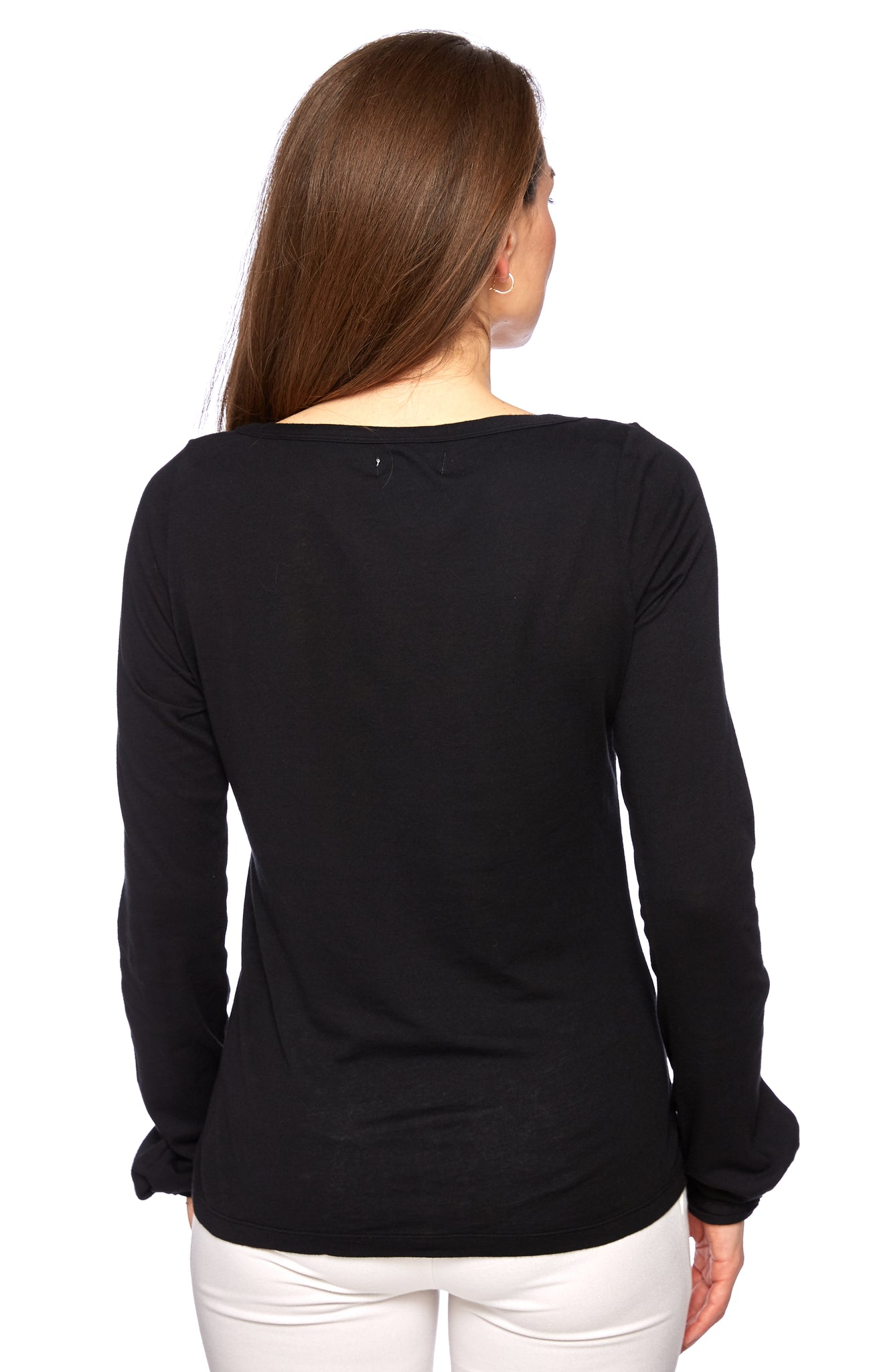 Divine Twist Top in Black