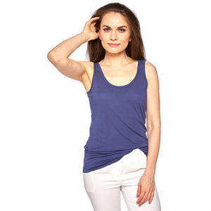 Tuesday Layering Tank Top Blue Depths