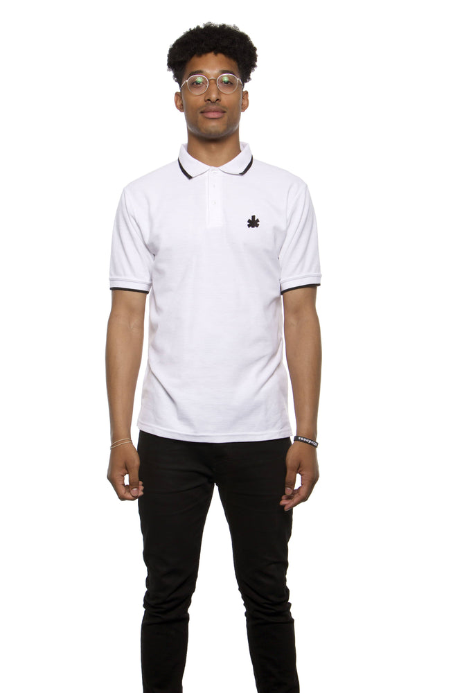 NFA White Polo Classic Football Shirt | Northern Football Apparel
