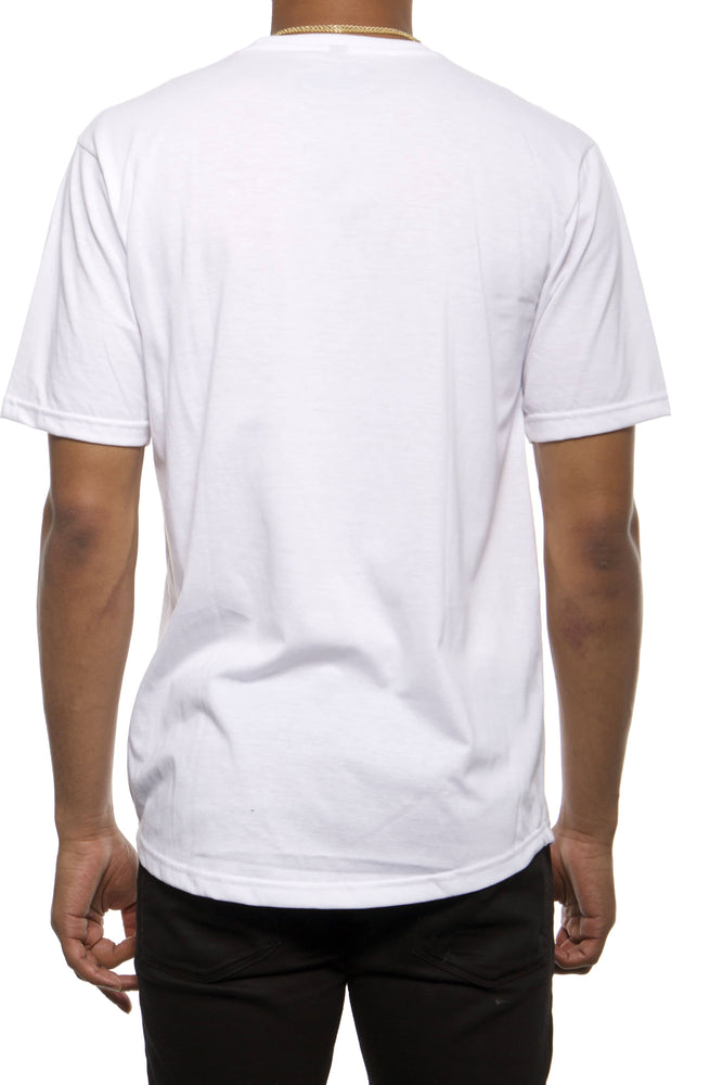 White Scooped Classic Football Shirt (NFA Silicone Block Leaf)