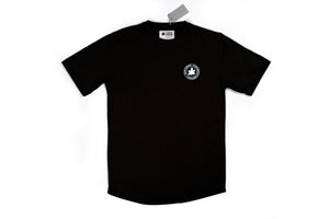 Black Scooped Classic Football Shirt (NFA Silicone Roundel)