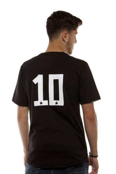 Custom Black Scooped Classic Football Shirt | Northern Football Apparel