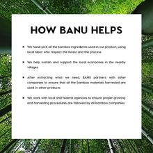 Load image into Gallery viewer, BANU Bamboo Water - Oro Blanco