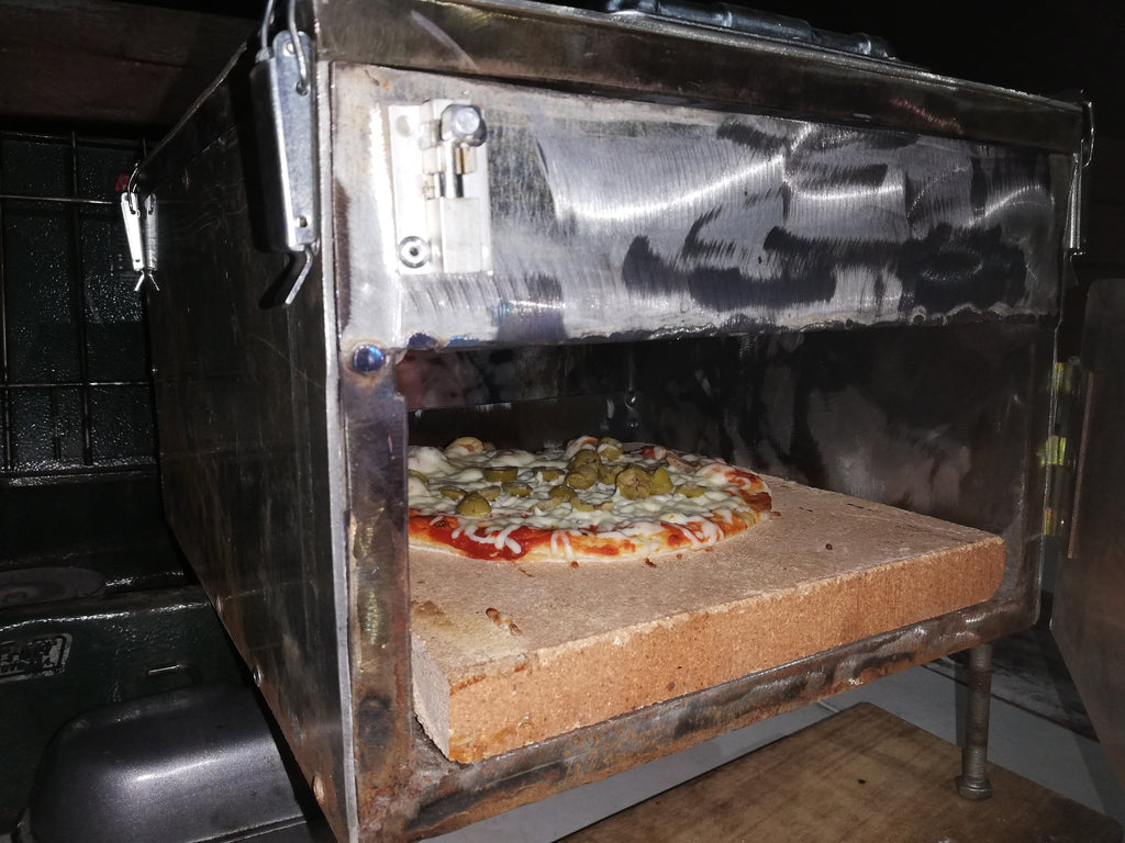 DIY Camping Pizza Oven