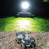 Nilight 12 Inch 72w LED Light Bar Spot Flood Combo Beam Light Bar Off Road Driving Fog Lamp 4x4 Off Road ATV SUV Jeep,2 Years Warranty