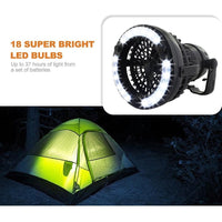 Tent Fan With LED Lighting