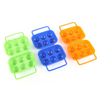 Camping Plastic Egg Box For 6 Eggs