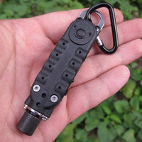 Pocket Screwdriver With Led light, Bits and Carabiner