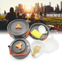 Camping Cookware Non Stick 8 Pieces Set