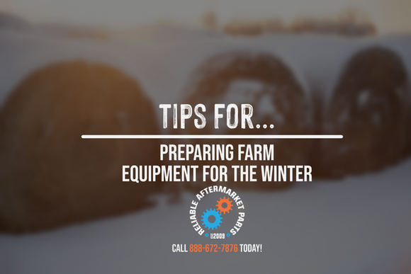Tips For Preparing Farm Equipment For The Winter