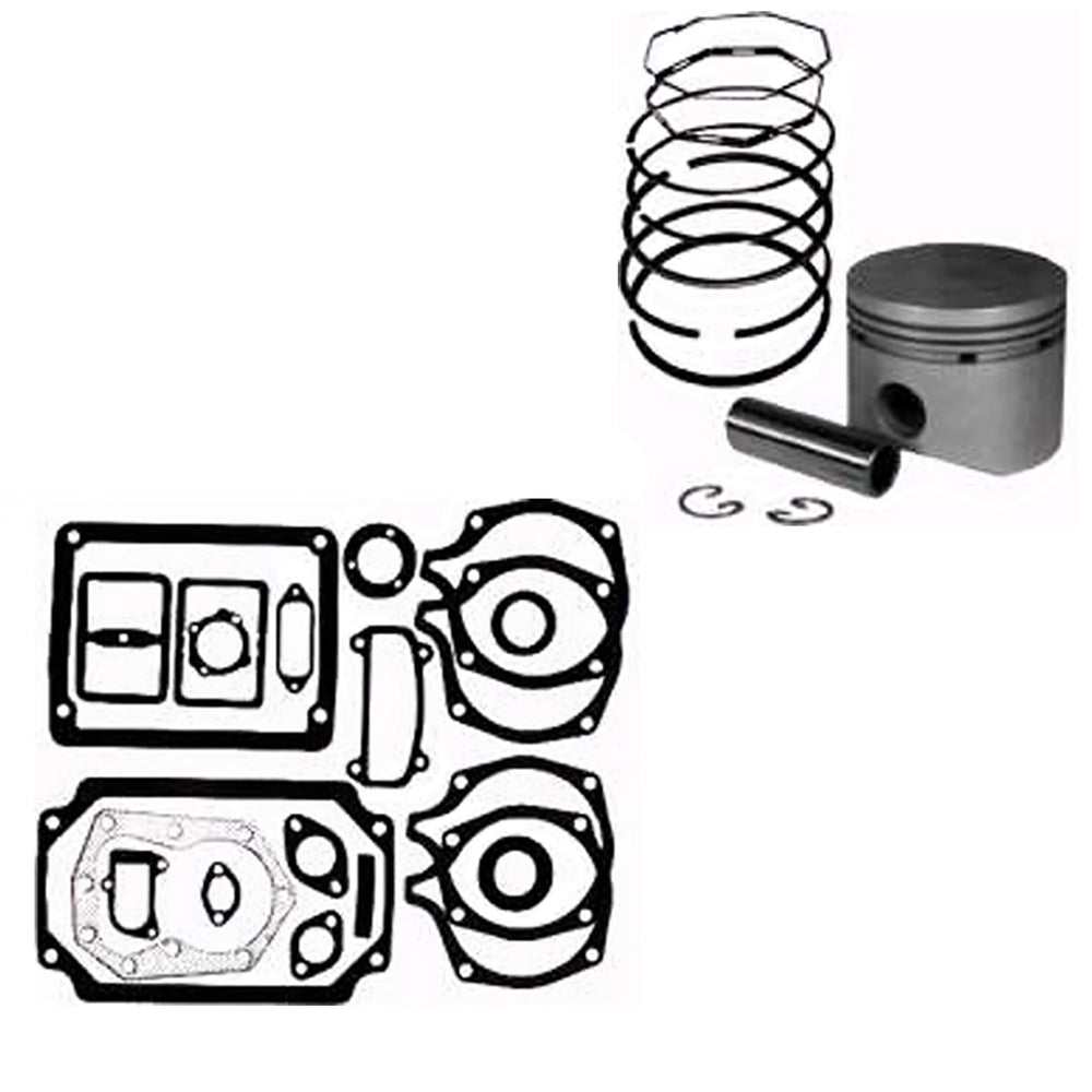014766-PISTONASSY Piston Assembly & Gasket Set
