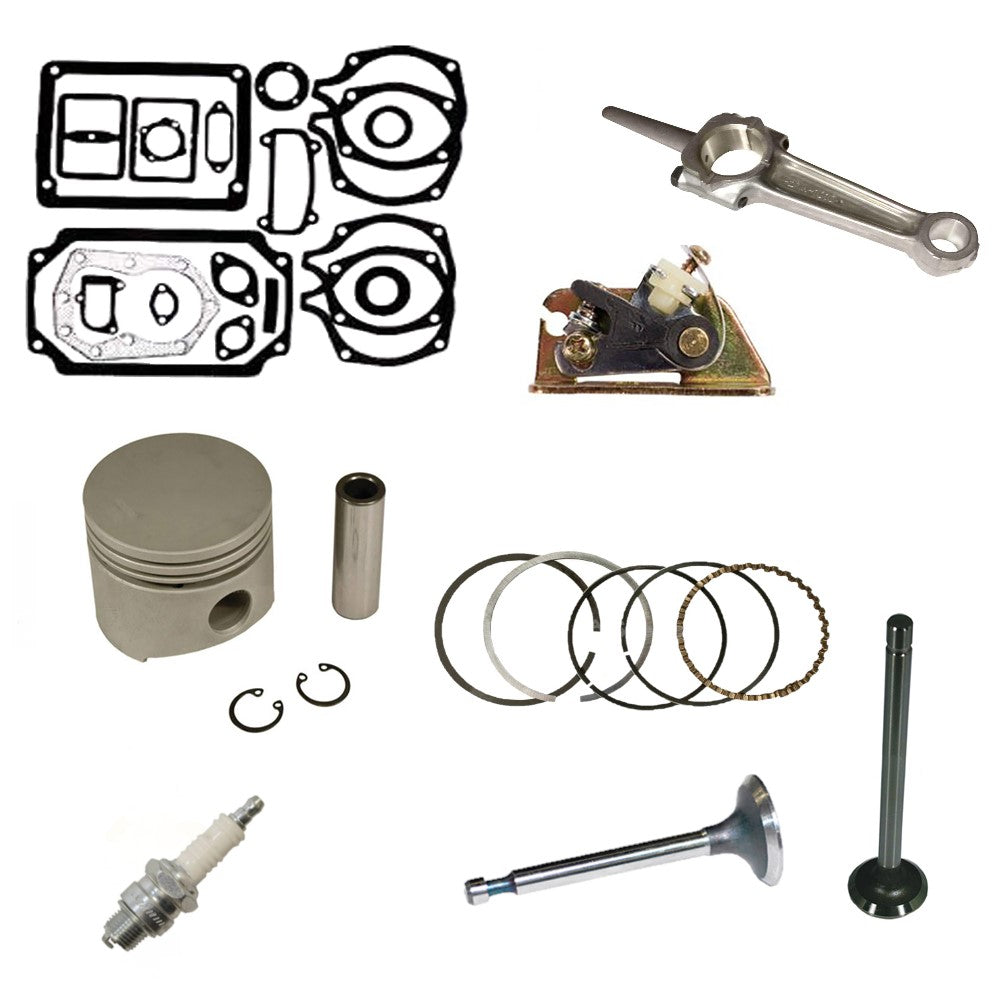 014786-GASKETSROD&PISTON Engine Rebuild Kit with Valves