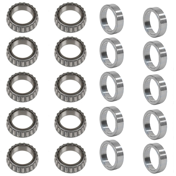 05938-BEARINGS_x10 Qty 10: Trailer Hub Wheel Bearing Set