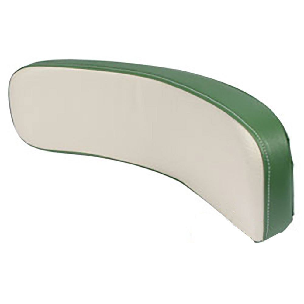 103BR Green & White Backrest