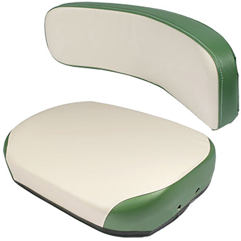 105812ASB11-2PCCUSHIONSET 2-pc Green & White Cushion Set