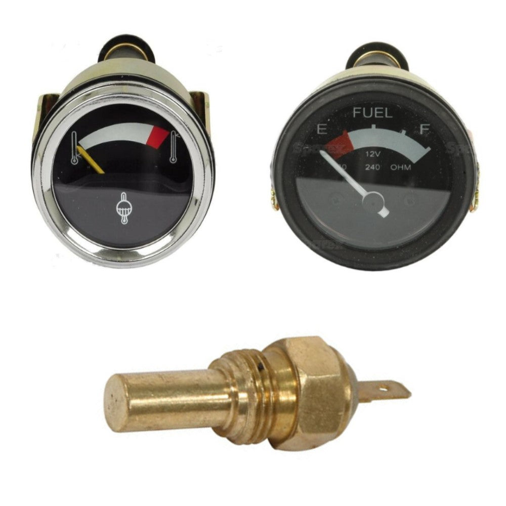 1074336M91TEMPSENDERGAUGE Water Temp Gauge, Sender Switch & Fuel Gauge