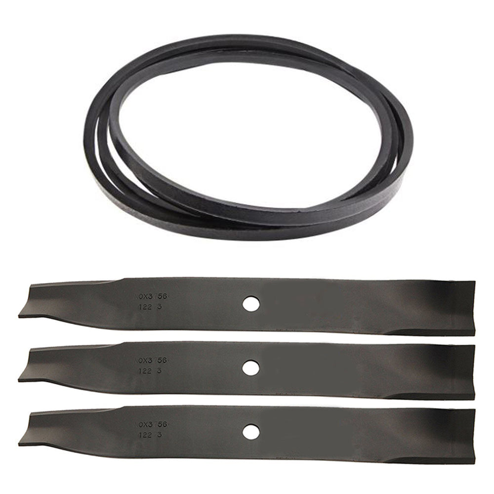 110-6892BLADES Mower Deck Blade & Belt Set