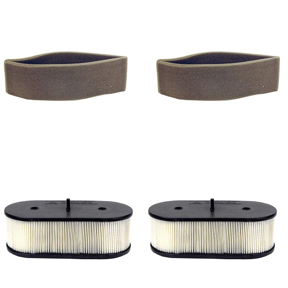 110137031-PREFILTER_x2 Qty 2: Air Filter & Pre-Filter Set