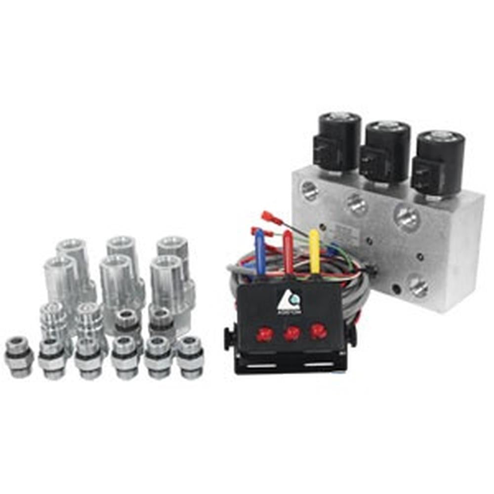 12370 12VDC 3 Circuit Hyd. Multiplier w/ Switchbox & Couplers