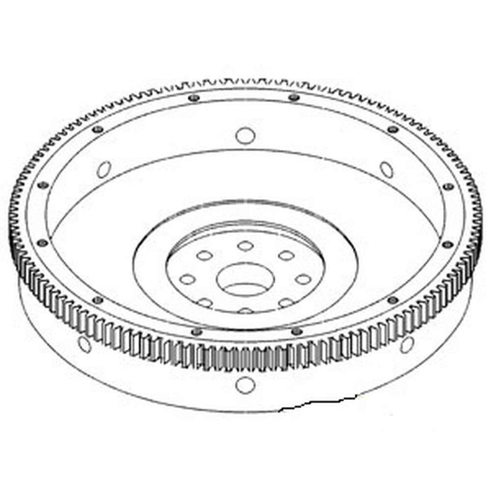 142022C91 Flywheel with Ring Gear