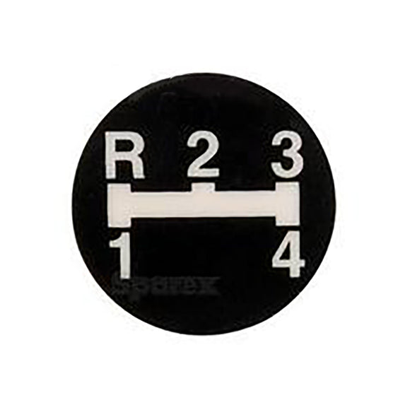 1682628M1 Gear Shift Decal