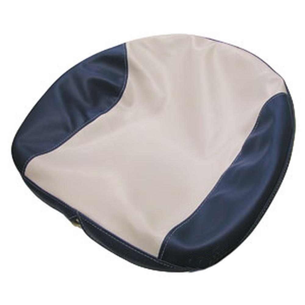 251195DS-K14 Blue / White Seat Cover with Foam