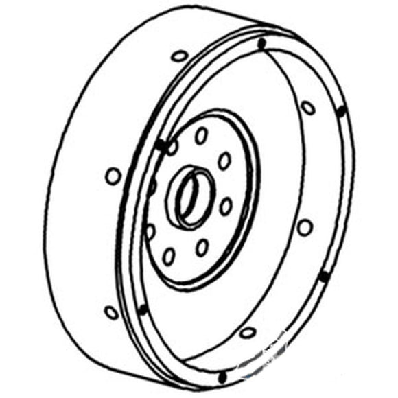 282208A1 Flywheel with Ring Gear