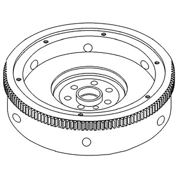 3055980R11 Flywheel with Ring Gear