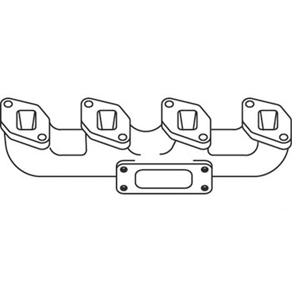 3136066R12 Exhaust Manifold