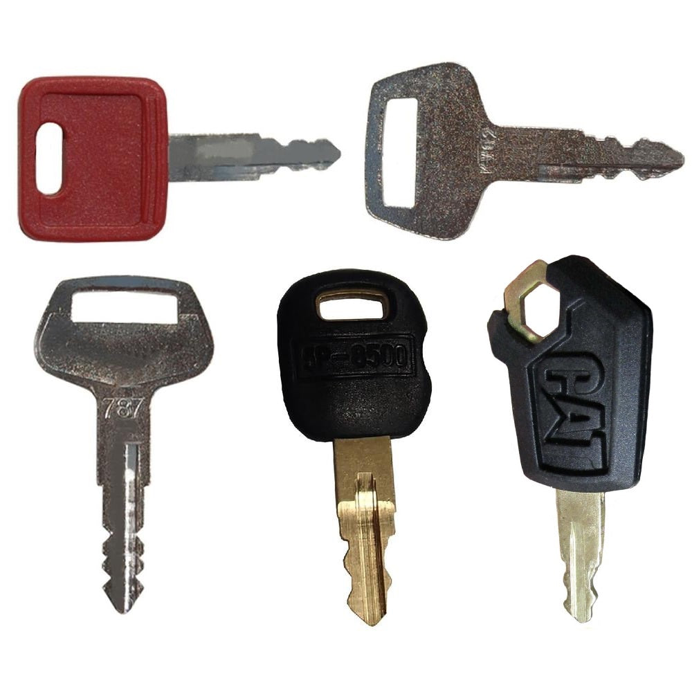 5P8500-5HEAVYKEYSET 5 pc Heavy Equipment Key Set