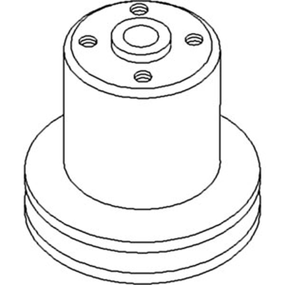 70233395 Water Pump Pulley