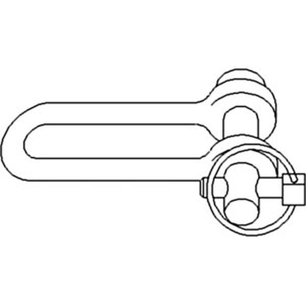 81824446 Stabilizer Clevis with Pin