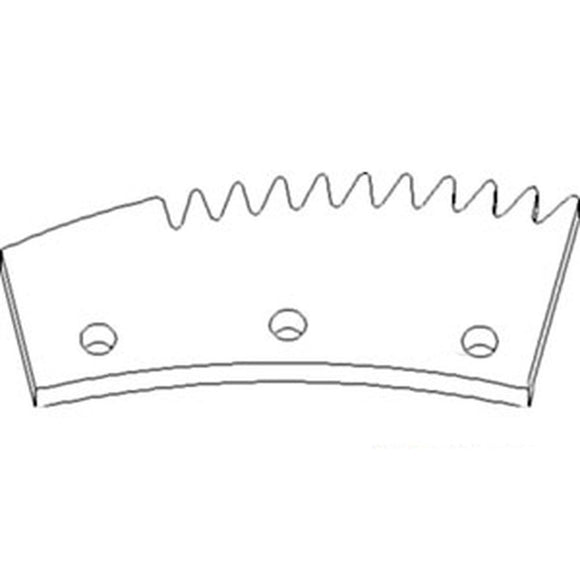 87496791 Right Hand Serrated Lug Rotor