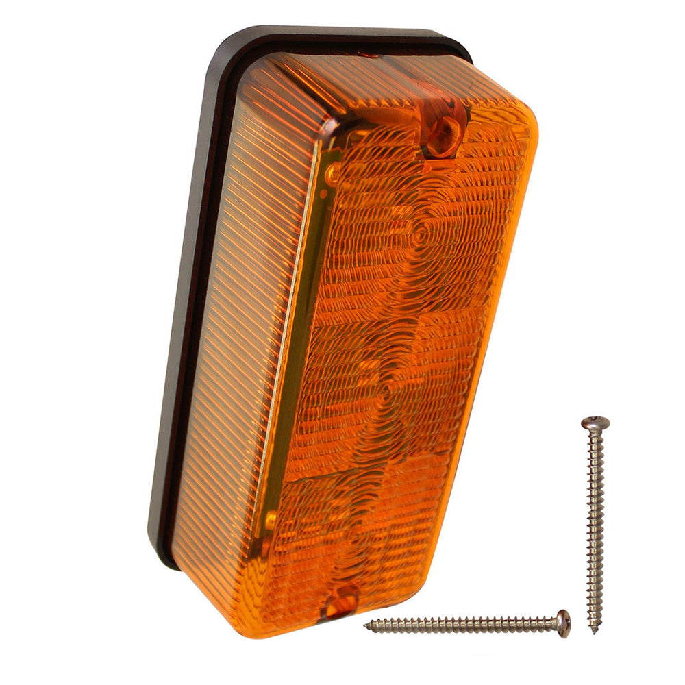87703630 Amber LED Flasher Tail Light Lamp