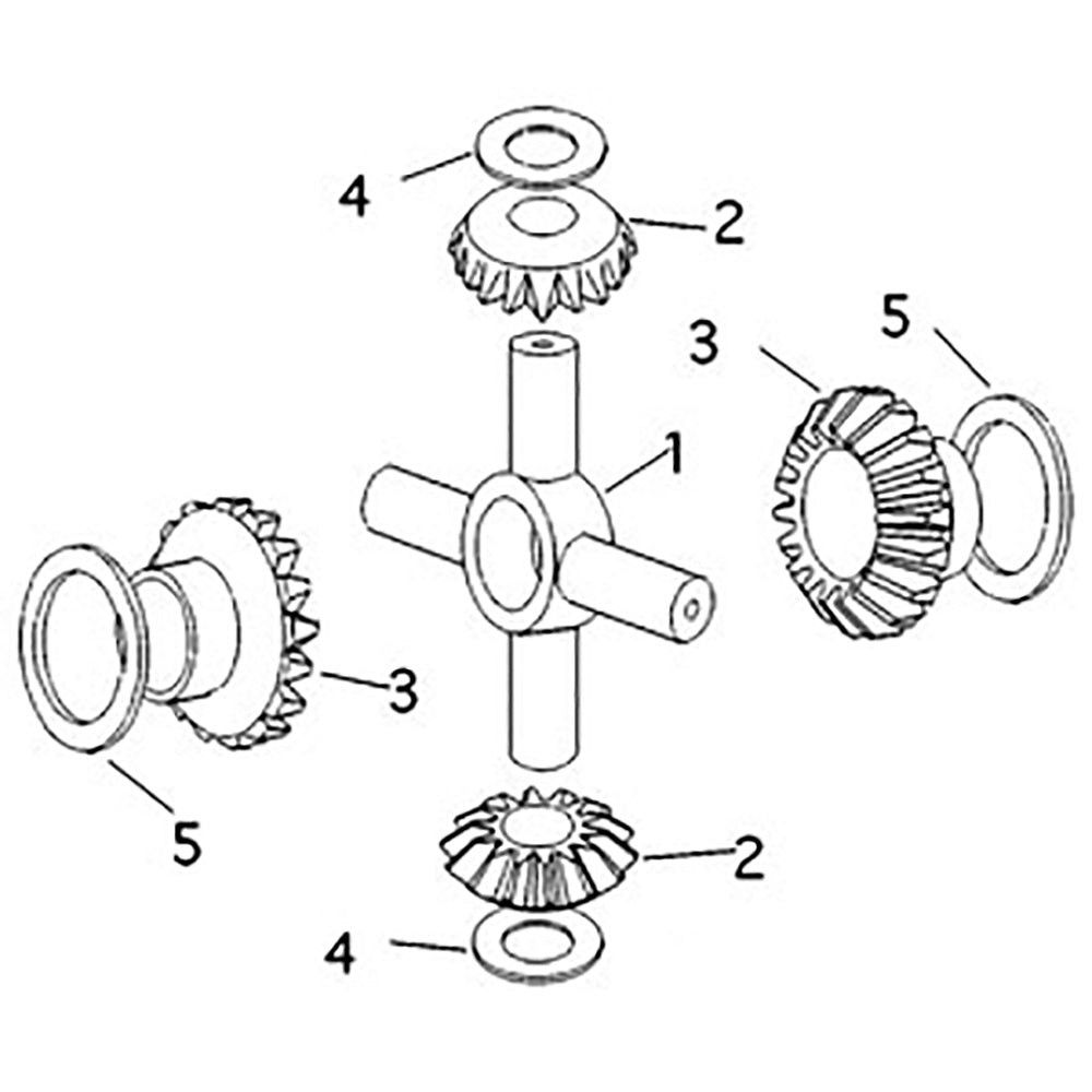 897007M1 Differential Plantary Gear