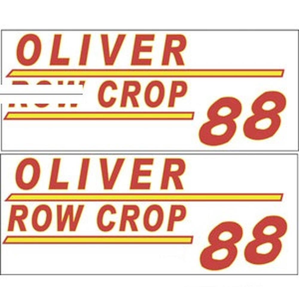 901H Hood & Safety Decal Set