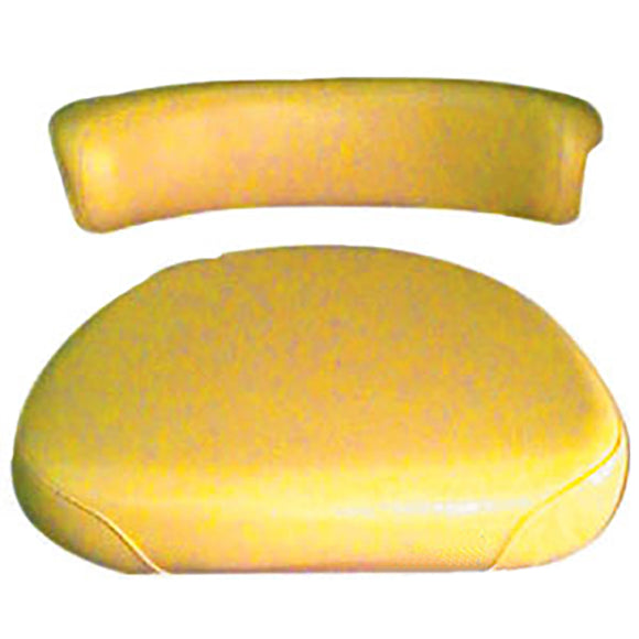 C5NNA401H-6 Yellow Vinyl Seat Back w/ Wood Base