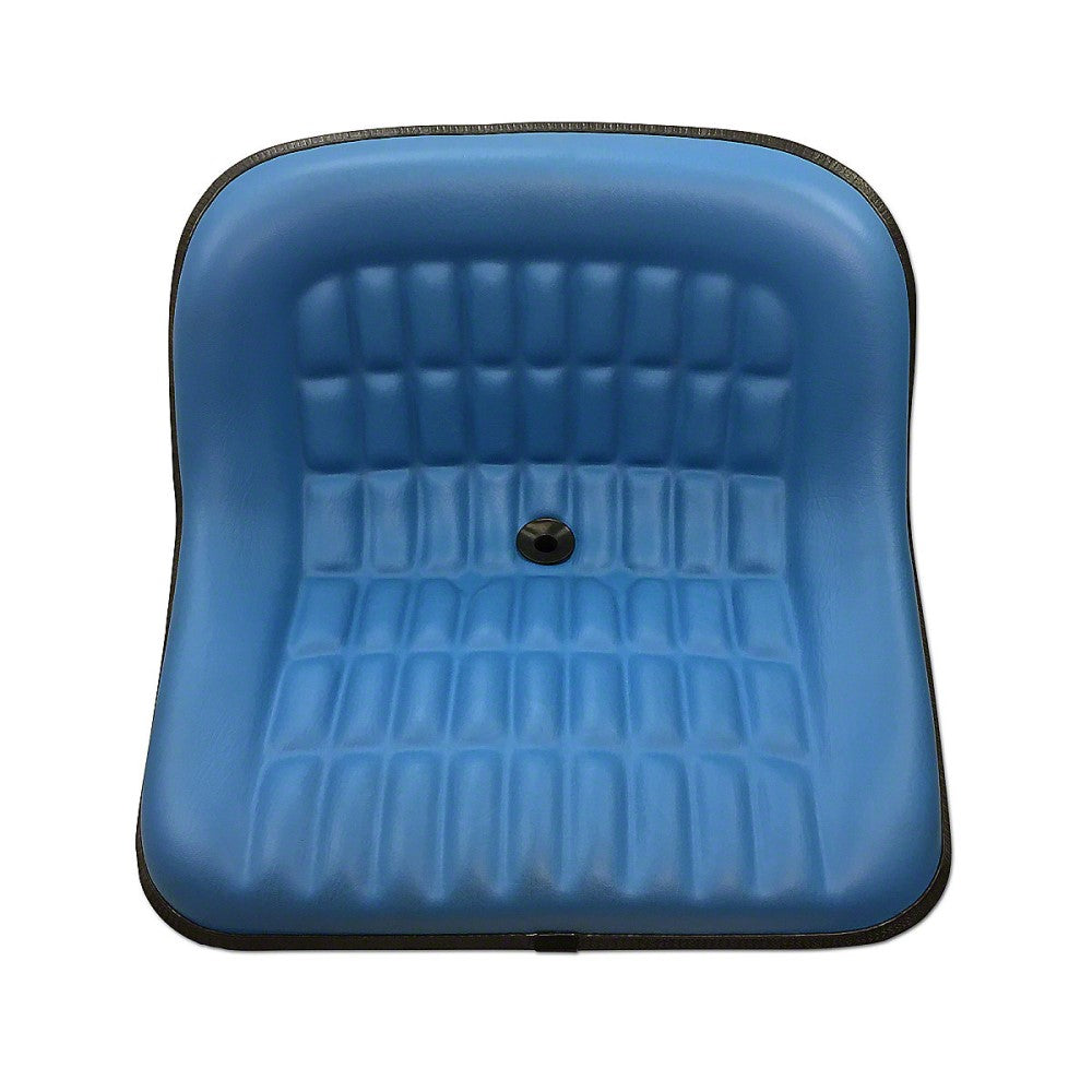 CS668-8V Steel Pan Blue Vinyl Seat