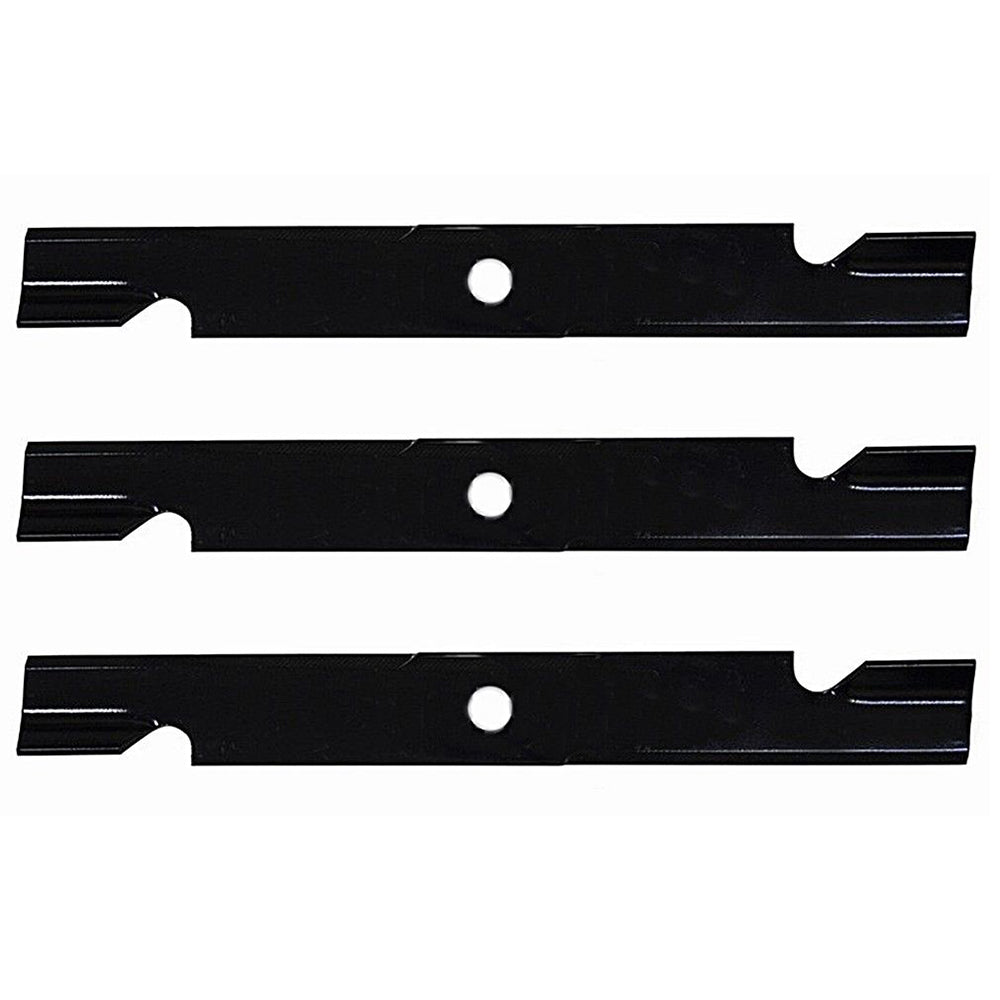 LAB50-0119_x3 Qty 3: High Lift Notched Mower Blade